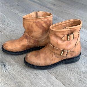 TopShop Brown Lug Engineer Boot 38 (7.5/8)